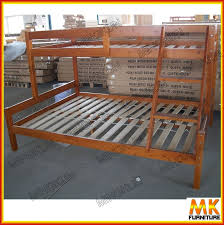 Wooden Bed Frame Double by Double Deck Wooden Bed Crowdbuild For