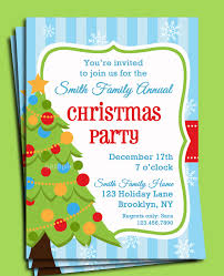 Christmas Invitation Card Beautiful Christmas Party Invitations Ideas With White Background