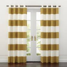Gold Striped Curtains Shop Alston Ivory Gold Curtains Sophisticated Modern Curtain