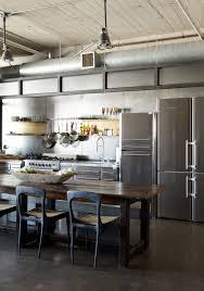 industrial style kitchen islands kitchen kitchen island wooden varnished kitchen island