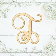 monogram letter t shop wood letters monogram wood letter