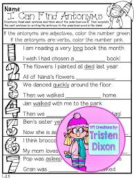 79 best write antonyms images on pinterest word work