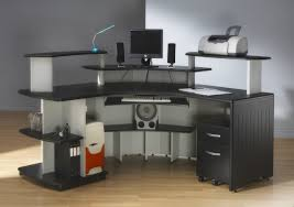 Computer Desk Perth L Shaped Computer Desk Designs For Home With Opened Shelves And