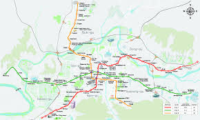 A Train Subway Map by Subway In Korea Kojects