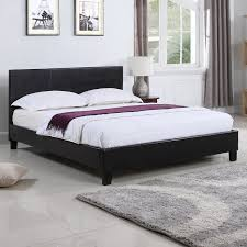 Cool Platform Bed Upholstered Design Platform Bed Modern Panel Headboard Type