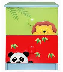 Sunny Safari Bookcase Kids 2 Drawer Cabinet Sunny Safari Room Collection Kids Drawers