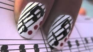 music nails youtube