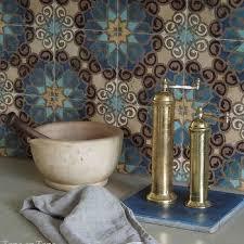 moroccan tile kitchen backsplash patterned moroccan tile backsplash design ideas