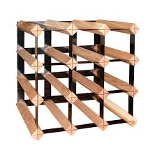 12 bottle trellis wine rack in wine racks