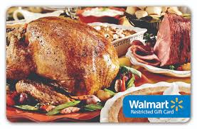 walmart turkey gift card restricted walmart