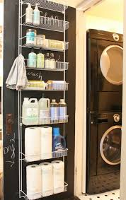 Ideas For Laundry Room Storage by Door Rack From Home Depot I Can Use For Paper Towels Cleaning