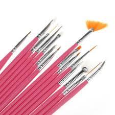 amazon com 5 pc 2 way dotting pen tool nail art tip dot paint