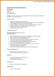 Cashier Sample Resume by 5 Cashier Resume Samples Technician Resume