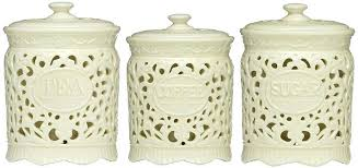 ceramic canisters sets for the kitchen ceramic kitchen canister sets snaphaven
