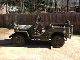 military jeep 1944 ford gpw military jeep and 7ft x 16ft enclosed lark trailer