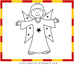 coloring pages printable for kids angel coloring pages for kids