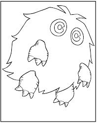 yu gi kuriboh monster coloring pages kids hc5 printable