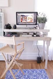 Raised Desk Shelf Elevated Office Chair Desk Shelf Work Platform Raising Stand