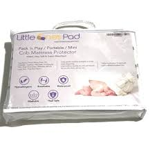 Mattress Topper Crib One S Pad Pack N Play Crib Mattress Cover Fits All Baby