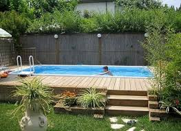 Backyard Above Ground Pools by Top 27 Diy Above Ground Pool Ideas On A Budget Ground Pools