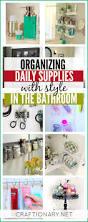 Bathroom Organizing Ideas Craftionary
