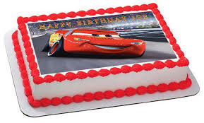 cars cake toppers disney pixar cars lightning mcqueen 2 edible cake topper cupcake