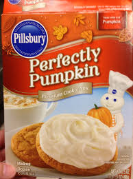 pillsbury halloween sugar cookies pillsbury perfectly pumpkin cookie mix recipes food cookie recipes