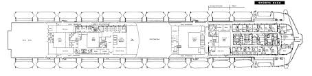 Deck Floor Plan by Get To Know The Ss United States