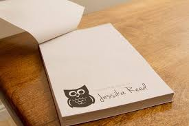 From The Desk Of Notepad Homemade Tear Off Personal Notepad Tutorial Hip U0026 Simple