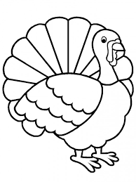 pix for easy turkey drawings clip library