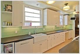 Stunning Green Kitchen Backsplash Images Home Decorating Ideas - Green kitchen tile backsplash