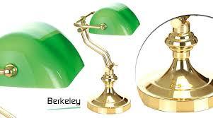le de bureau banquier laiton verre vert le bureau banquier le de bibliothaque verte en laiton et