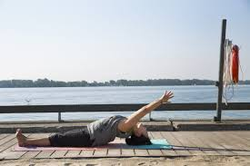 yoga thanksgiving point become a fish with northern pike pose yoga moves toronto star
