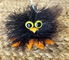 owl handmade felted christmas tree ornament christmas decor gift