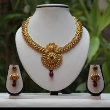 beautiful necklace online images Buy online no 1 antique golden shine green maroon necklace set jpg