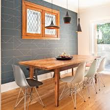 papier peint pour salon salle a manger salle à manger chic et glamour salle à manger avant après