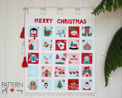 christmas advent calendar christmas advent calendar pattern felt advent calendar countdown