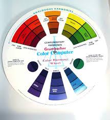 favorite color retro rainbow spinner vintage grumbacher painting