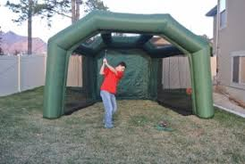 Golf Net For Backyard by Inflatable U0026 Blow Up Golf Net Cage In Salt Lake City Ut Canyon
