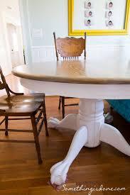 Kitchen Pedestal Table Pintado Refinished Tabela Pedestal Algoritmo Seja Feito Via