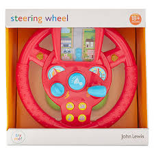 buy john lewis interactive steering wheel toy john lewis
