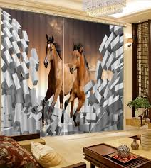 compare prices on horse bedroom curtains online shopping buy low