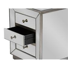 Tall Bedside Tables by Furniture 3 Drawer Nightstand Three Drawer Bedside Table