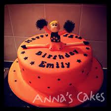 a cheerleader cake for the birthday cheerleader cake