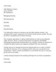 introduction cover letter sample letter of introduction 34 best