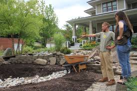 project rain garden photo gallery tip of the mitt watershed council