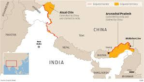 Map Of Nepal And China by Road To Doklam When Will China And India Start Talking About The