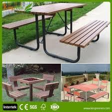 Composite Patio Table New Design Garden Furniture Patio Furniture Table And Garden Chair