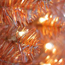 6 ft pre lit pink ombre alexa tinsel artificial christmas tree