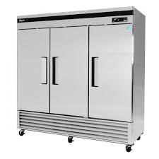 armoire inox cuisine professionnelle congélateur armoire professionnel en inox à 3 portes tsf